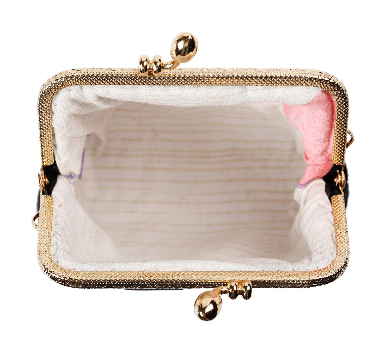 Kigurumi Womens Japanese Style Coin Silk Wallet Cosmetic Bag by Kigurumi (Image #5)