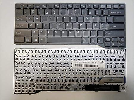 Teclado portátil checo eslovaco para Fujitsu Lifebook E733 ...