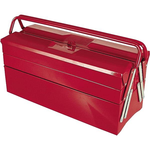 Tayg Caja herramientas metálica n. 505: Amazon.es: Bricolaje y herramientas