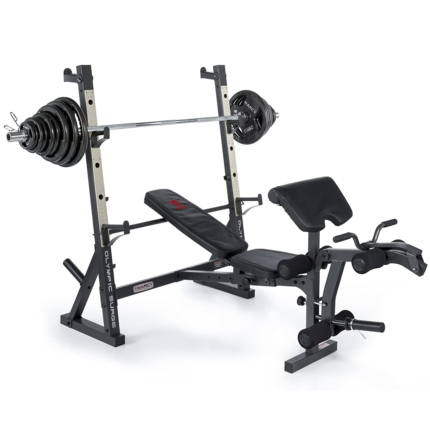with lifting adjustable gym barbell set stand itm power weight squat bench rack