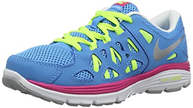 Nike Dual Fusion Run (Big Kids) Big Kids Running Shoes 599793-401 Size