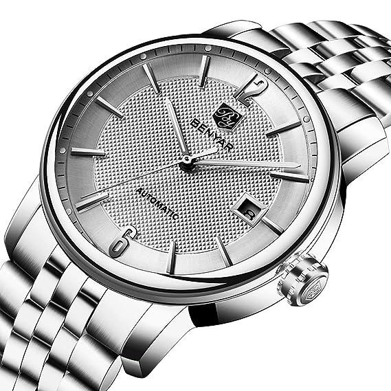 Benyar BY5144 - Reloj de Pulsera para Hombre (analógico, Pantalla clásica y Correa de