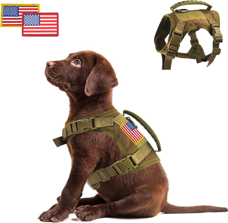 Tactical Service Dog Vest Harness