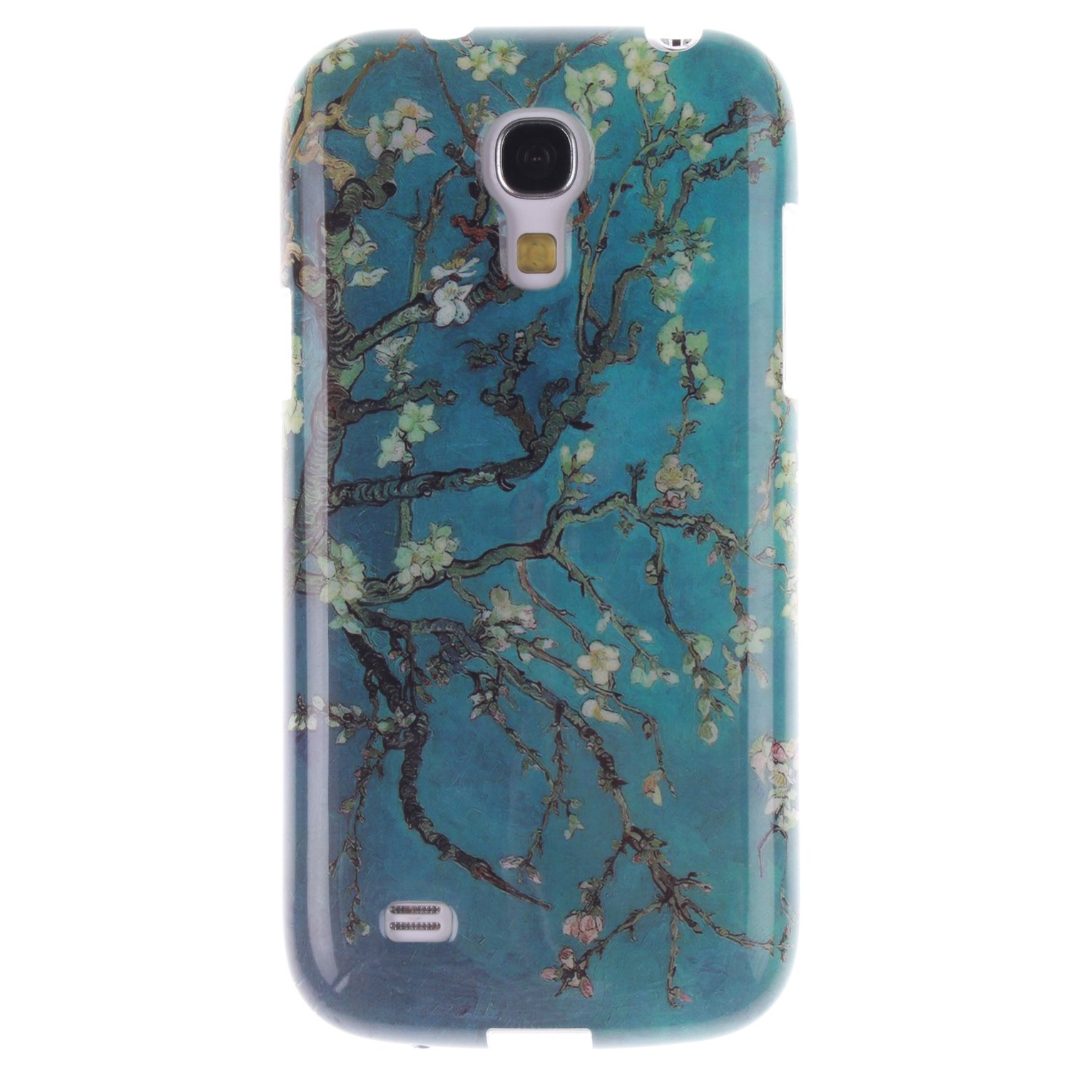 Coque Samsung Galaxy S4 mini /i9190, Coffeetreehouse Housse Etui Protection Full Silicone Souple Ultra Mince Fine Slim pour Samsung Galaxy S4 mini /i9190, Samsung Galaxy S4 mini /i9190 Étui en TPU silicone - Bleu Plum