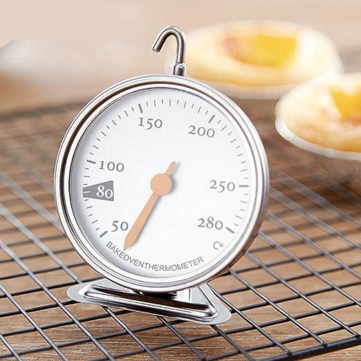 Kitchen Craft Traditionell Edelstahl Grad C /& F Ziffernblatt Ofen Thermometer