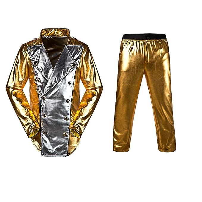 Amazon.com: Michael Jackson World Tour Gold History Jacket ...