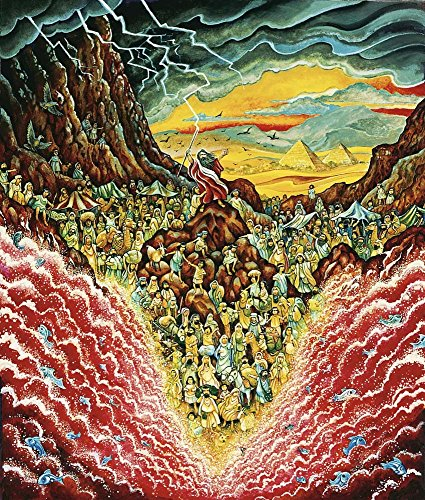 Parting The Red Sea by Bill Bell Art Print, 14 x 16 inches]()