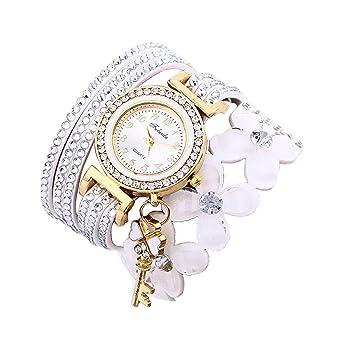 6748e4a3ff736 Montre Bracelet Femmes Pas Cher Oyedens Montres Bracelet pour Femme Charme  Vintage Weave chaîne Bracelet Femmes