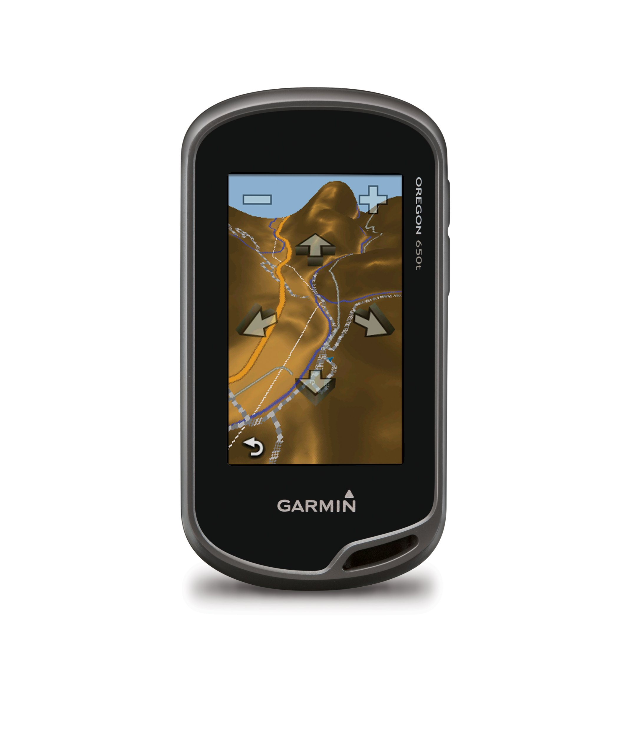 Garmin Oregon 650t 3-Inch Handheld GPS with 8MP Digital Camera (US Topographic Maps) by Garmin