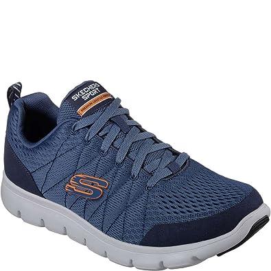 Skechers 52836 Calzado Deportivo Hombre Azul 42œ: Amazon.es