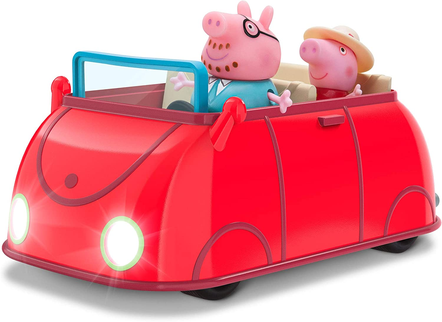 Peppa Pig Lights & Sounds Family Fun Car