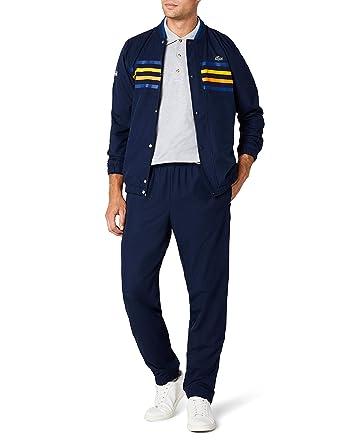 a324c166e3 Lacoste Sport WH3140 Survêtement, Bleu (Marine/Marino-Bouton D Or),
