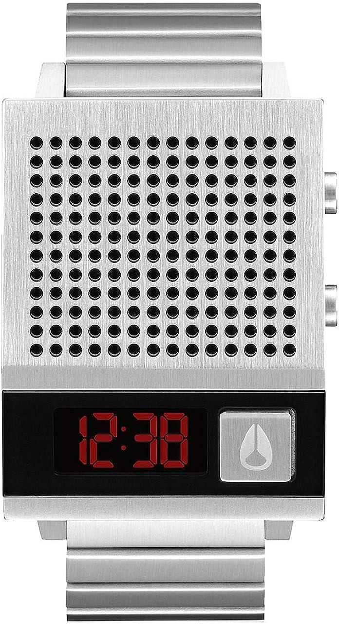 Nixon Reloj Hombre de Digital con Correa en Acero Inoxidable A1266-000-00