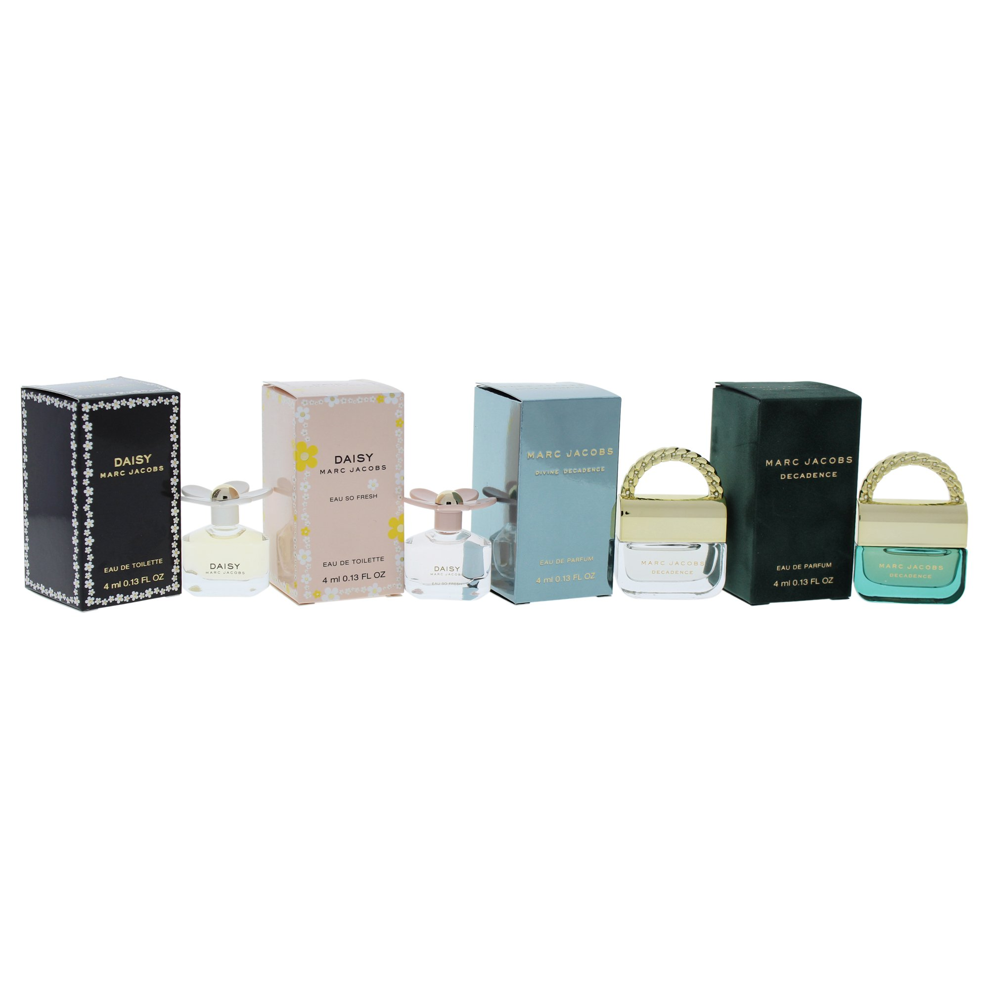 Marc Jacobs Variety Mini Perfume Kit for Women, 4 Count by Marc Jacobs