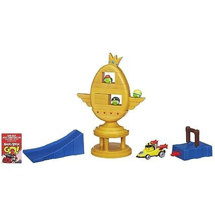 Amazoncom Angry Birds Go Jenga Trophy Cup Challenge Game Toys