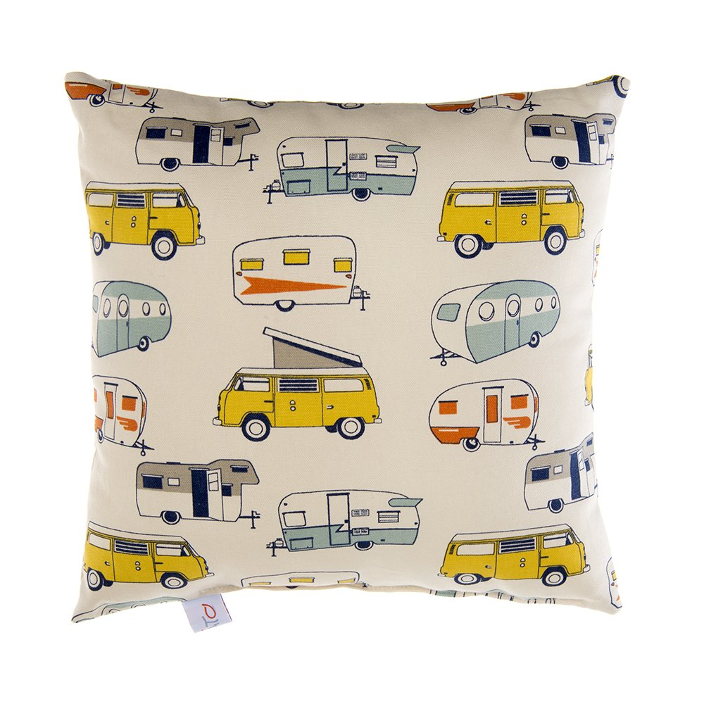 Glenna Jean Happy Camper Pillow