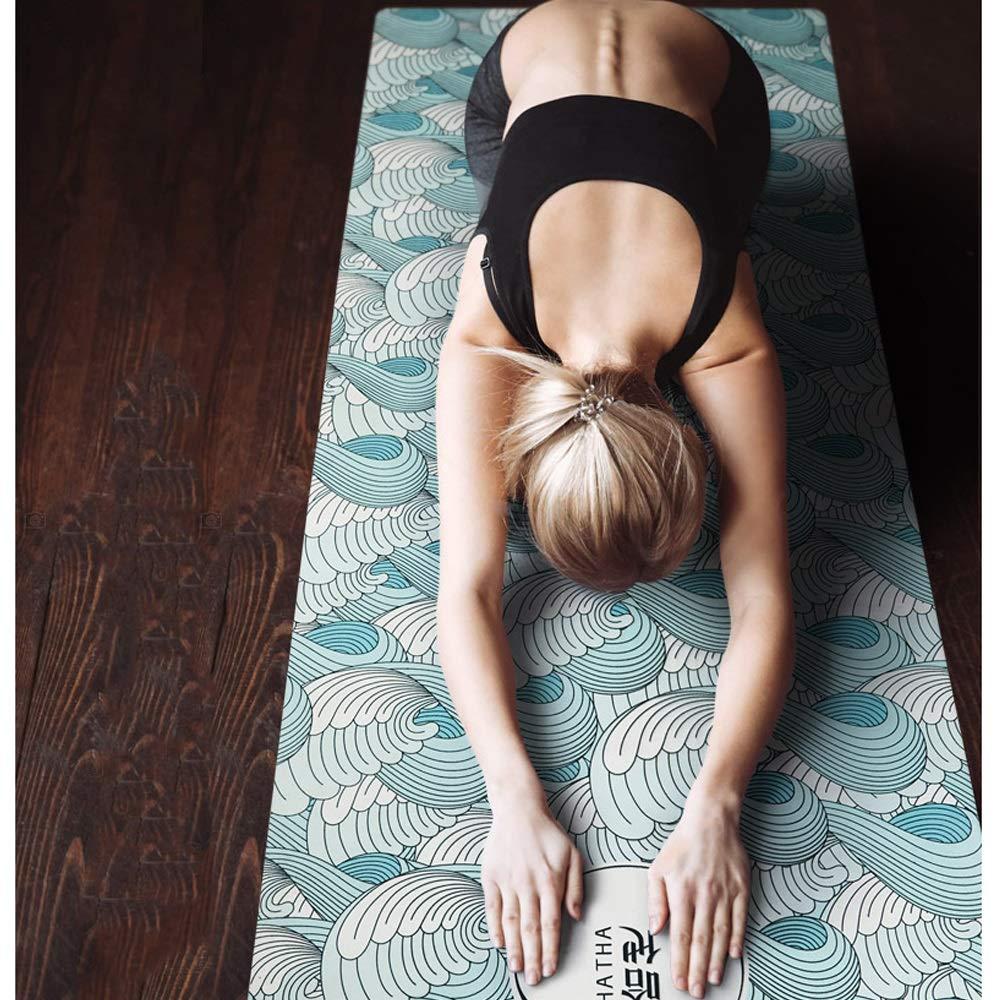 ZJZDLST Estera De Yoga, Goma Natural, Estera De Fitness ...
