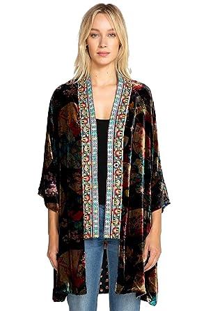 7a5f67c30 Johnny Was Fusai Velvet Kimono - C44418 at Amazon Women's Clothing store: