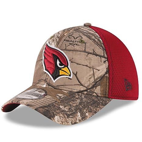 Arizona Cardinals Real Tree Neo 39THIRTY Flex Fit Hat   Cap Small Medium 10daec4aa