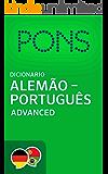 PONS Wörterbuch Deutsch -> Portugiesisch Advanced / Dicionário PONS de Alemão -> Português Advanced (Portuguese Edition)