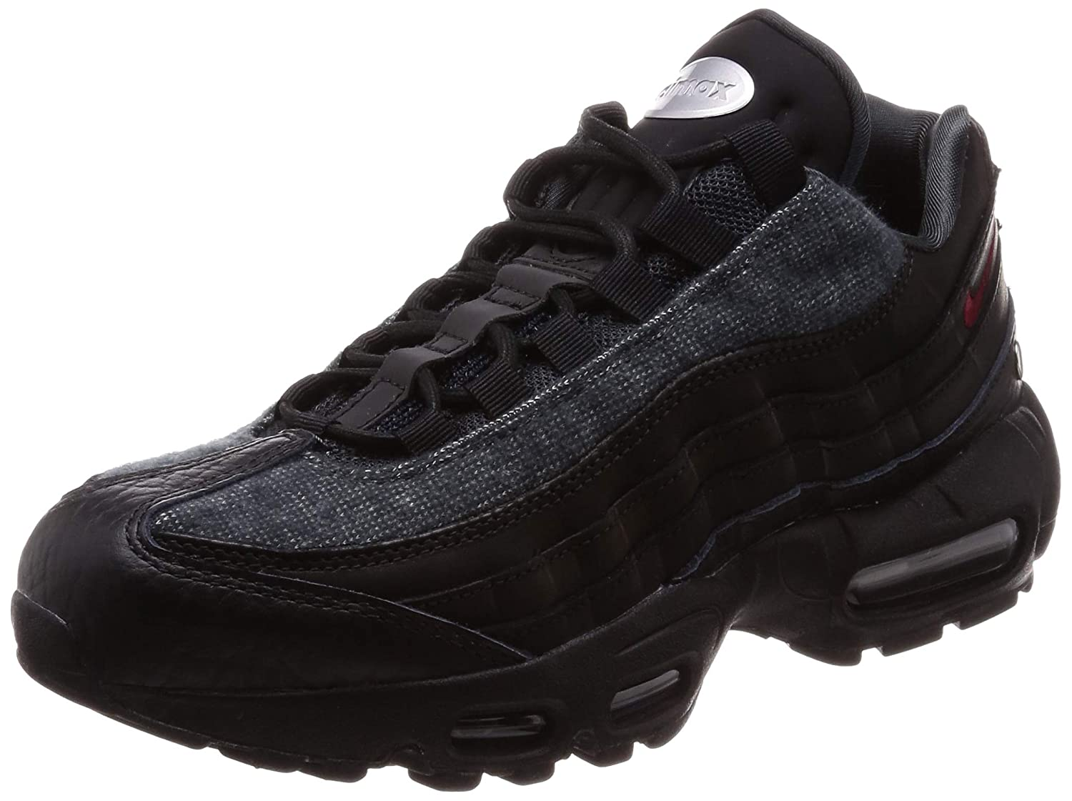 best sneakers 96ba1 70c35 Nike Men's Air Max 95 NRG, Black/Team RED-Anthracite
