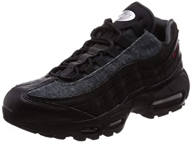 buy online e051e d8861 Nike Air Max 95 NRG Men s Shoes Black Anthracite Team Red at6146-001