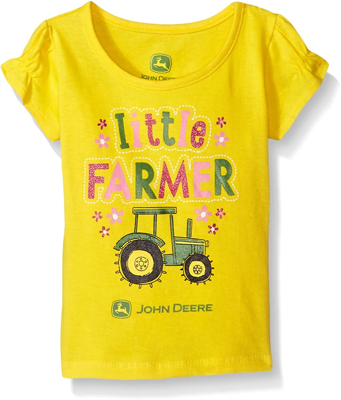 John Deere Baby Girls Tee John Deere Children/'s Apparel JFT472GF