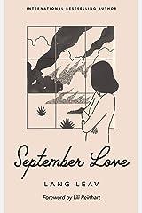 September Love Kindle Edition