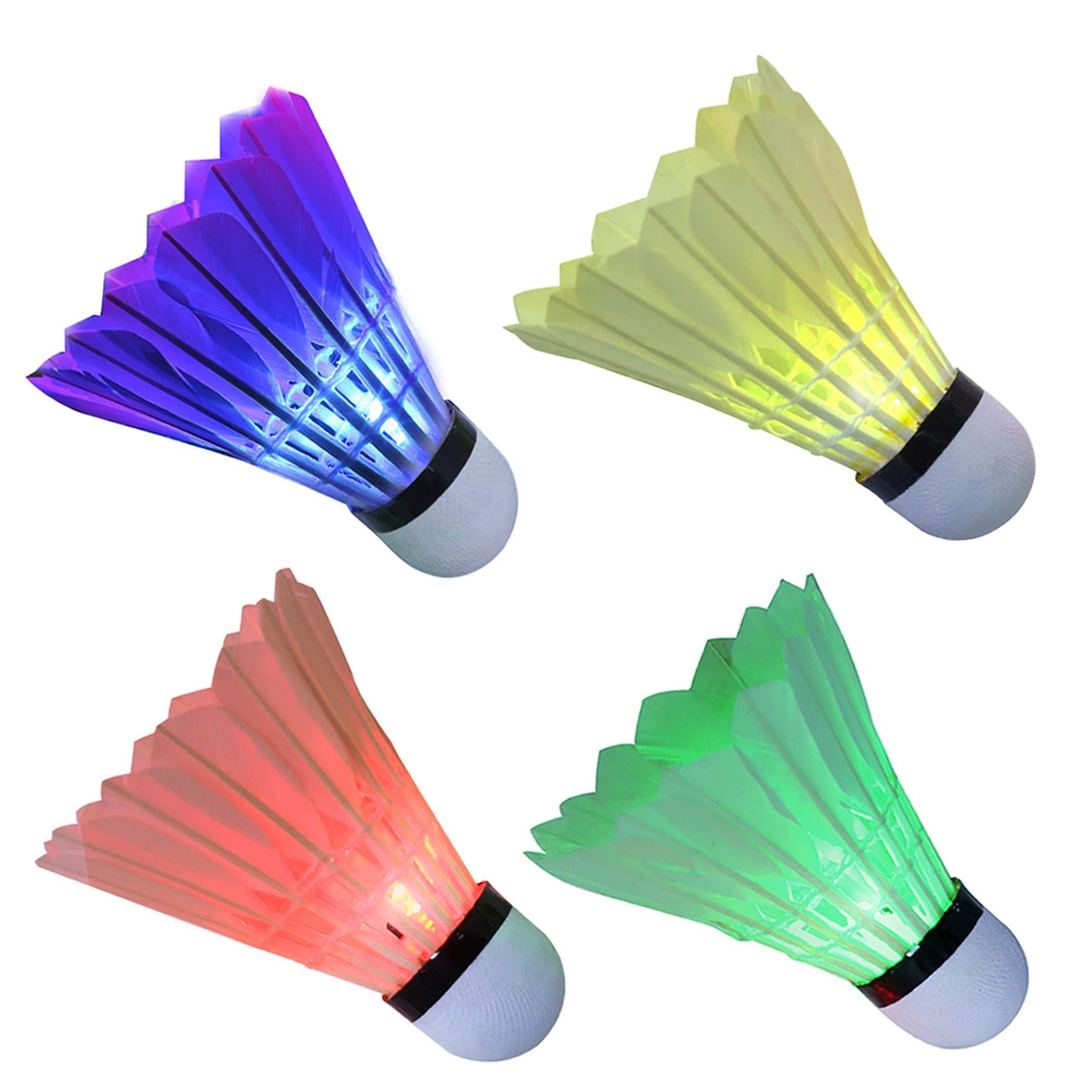 Franklin Sports LED Light-Up Shuttlecocks 3 Pack