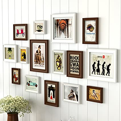 Amazon.com - JLRQY Photo Frame Sets For Wall Collage DIY Picture ...