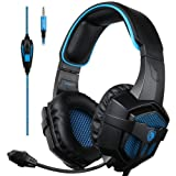 Amazon Price History for:[2017 SADES SA-807d New Xbox one PS4 Gaming Headset ], Gaming Headsets Headphones For New Xbox one PS4 PC Laptop Mac Mobile (Black&Blue)