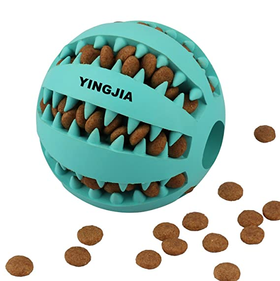 Review YINGJIA Dog Toy Ball,