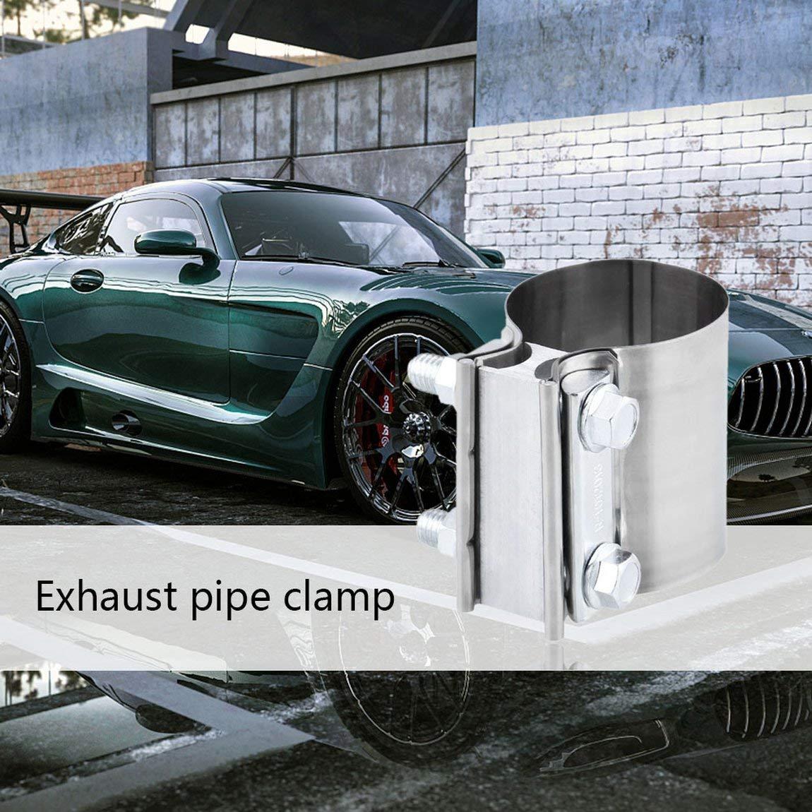 Morsetto di scarico universale Torca EasySeal in acciaio inossidabile modificato per auto ES225SS 2 1//42,25 COLORE: Verde