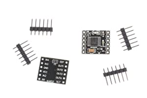 NOYITO DRV8833 1.5A 2-Channel DC Motor Drive Board Ultra Small Volume Motor Drive Module Input Voltage 3 to 10V (Pack of 2)