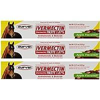 Durvet Ivermectin Paste Equine Dewormer - 3 Pack