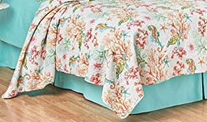C&F Home 82492.3 Chandler Cove Quilt Set Mini Set Queen or Full Size Quilt 90 Inches X 92 Inches and 2 Standard Shams