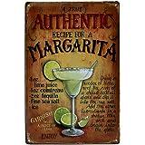iTemer – Publicidad metálica de pared para zumo. Decoración creativa para el hogar, ornamentación de estilo retro para bar, cafetería