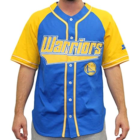 Starter Golden State Warriors NBA Men s Double Play Béisbol Jersey Camiseta, ...