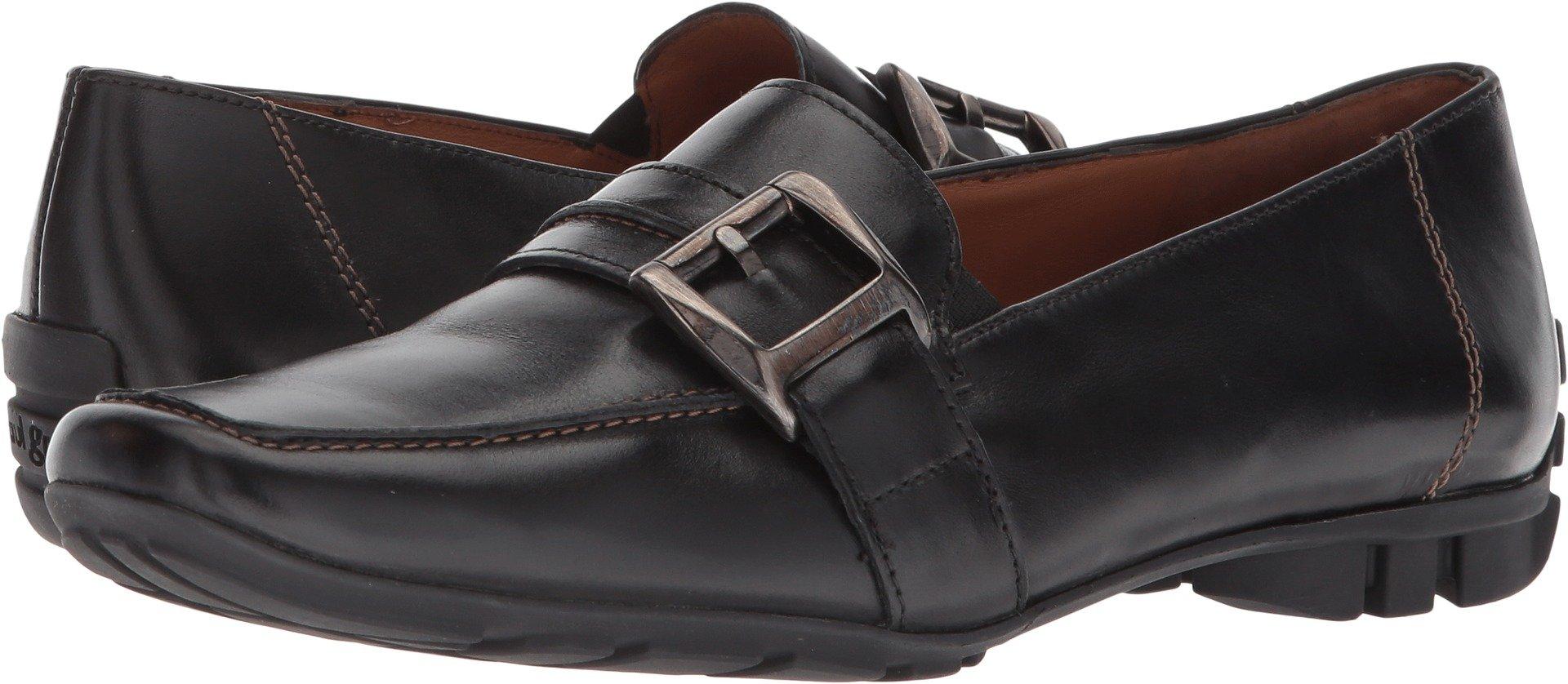 Paul Green Women's Neutron Loafer Black Leather 9.5 M US