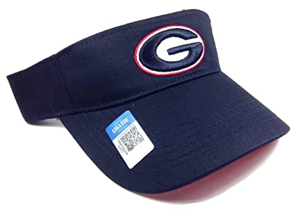 e89f832d7bb Image Unavailable. Image not available for. Color  Black Georgia Bulldogs  Visor