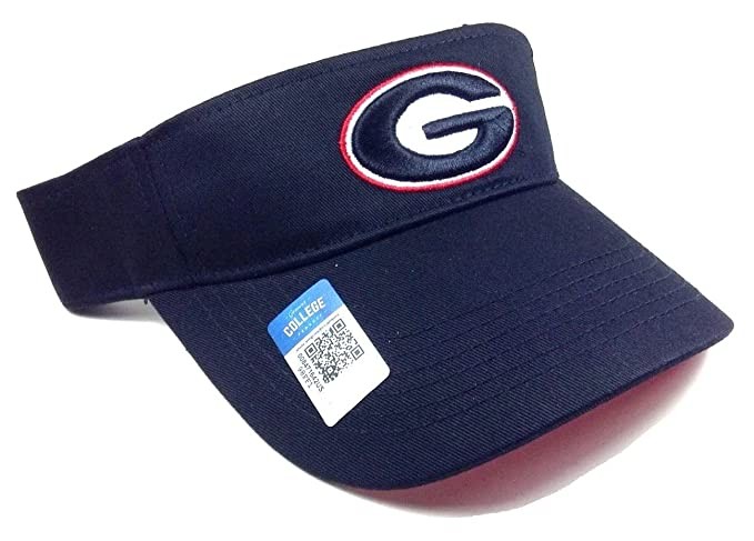 a9679cb26f69c Image Unavailable. Image not available for. Color  Black Georgia Bulldogs  Visor