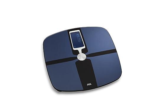 ADE Báscula de análisis corporal BA1600 FITvigo. Excelente App. gratuita. Peso hasta 180kg. Indice de masa corporal y osea, agua. Bluetooth.