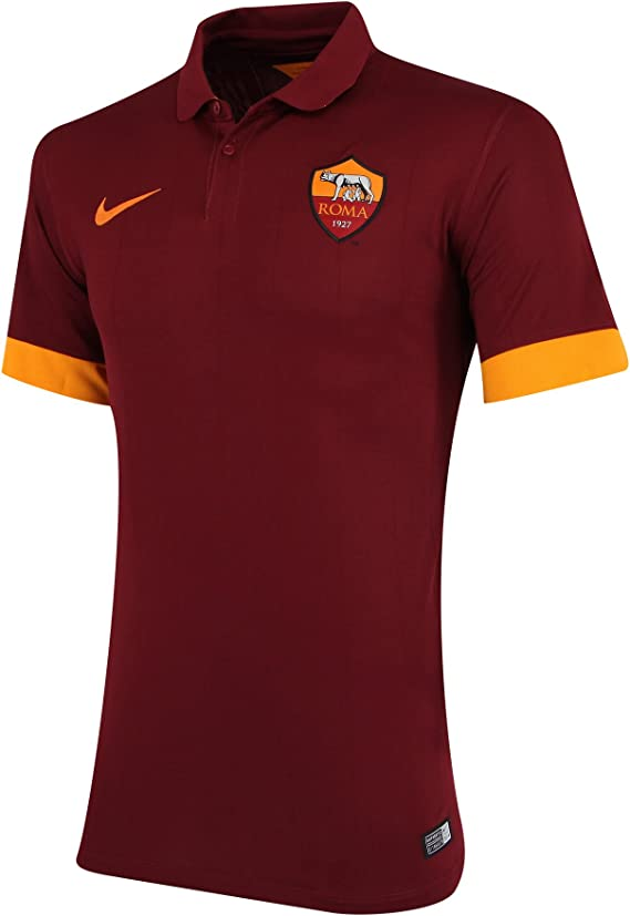 Camiseta AS Roma 1ª 2014-15: Amazon.es: Deportes y aire libre