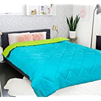 MR Brothers 250 GSM Microfiber Reversible 5* Star Duvet for Single Bed / Quilt / Blanket / AC Comforter 60x90 Inches