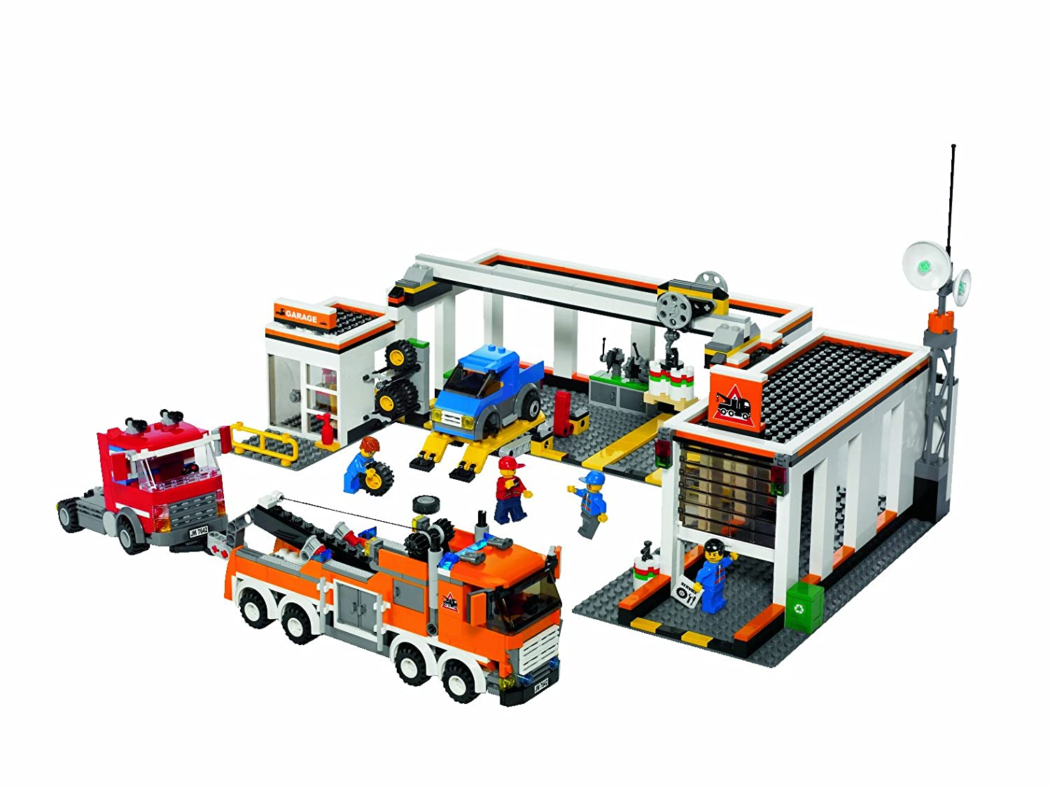 Lego City 7642 Garage Amazoncouk Toys Games