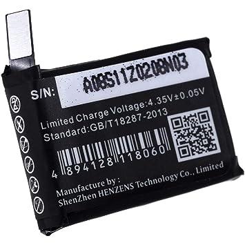 Batería para Smartwatch Apple Watch A1554: Amazon.es: Electrónica