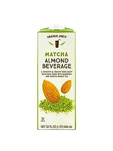 Trader Joe's Matcha Almond Beverage (4 Pack)