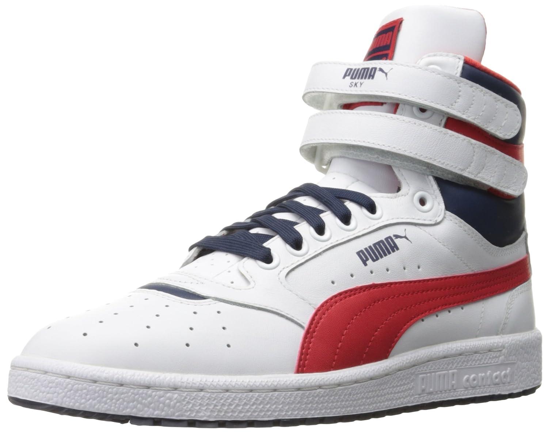 PUMA Men's Sky Ii Hi Fg Basketball Shoe, Puma White/High Risk, 14 M US: PUMA:  Amazon.ca: Shoes & Handbags