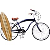 "Fito Modena Sport II Shimano 7-speed for men - Midnight Blue, 26"" Wheel Beach Cruiser Bike"