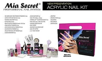 Amazon.com: Mia Secret Professional Acrylic Nail Set For Beginners (Kit-03): Beauty